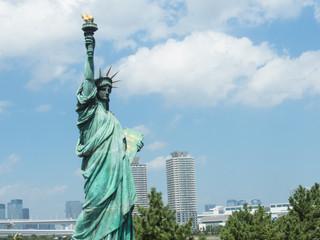 自由の女神(お台場 東京 日本)