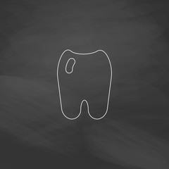 Tooth computer symbol