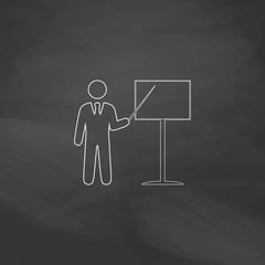 Training computer symbol
