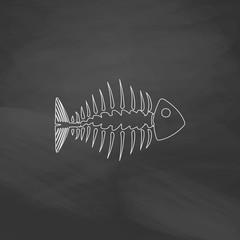 Fishbone computer symbol