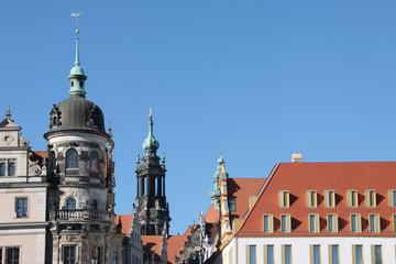 Türme über Dresden