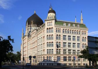 Moschee als Fabrikgebäude in Dresden Germany