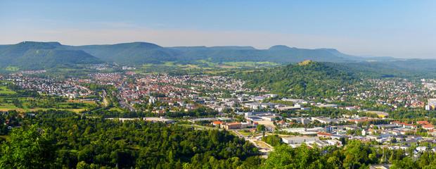 Panorama von Pfullingen
