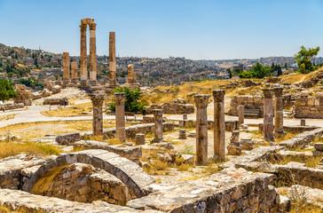 Ruins of the Byzantine Church at Amman Citadel