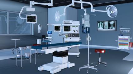 Moderner Operationssaal in einem Krankenhaus