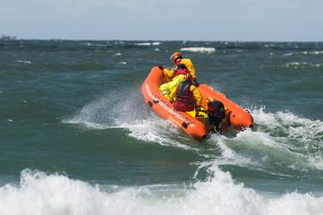 Rettungsboot der Wasserrettung