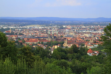 Cityscape View of Bamberg