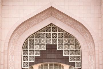 Details of Putra Mosque (Masjid Putra) at Putrajaya Malaysia