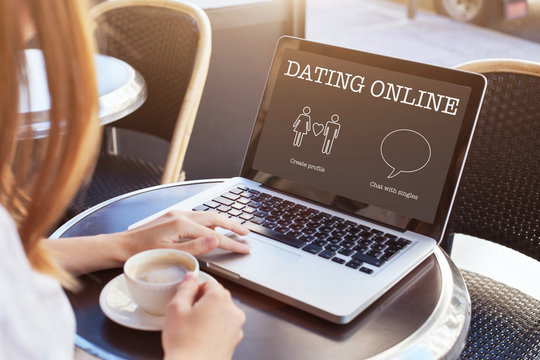 dating online, chat with singles nearby and find love