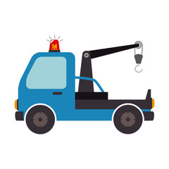 crane car truck design vector illustration eps 10