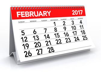 February2017 Calendar
