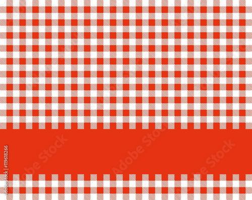 tischdecke rot wei mit textstreifen stockfotos und lizenzfreie bilder auf bild. Black Bedroom Furniture Sets. Home Design Ideas