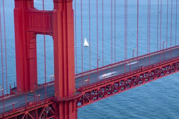 USA, California, San Francisco, Golden Gate Bridge