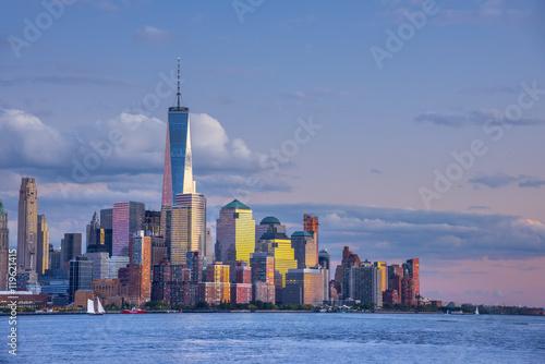 Usa New York Manhattan Lower Manhattan And World Trade Center