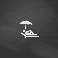 lounger computer symbol