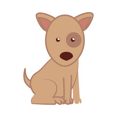 dog cartoon puppy isolated vector illustration eps 10