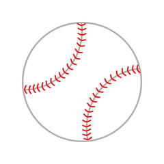 ball baseball isolated design vector illustration eps 10