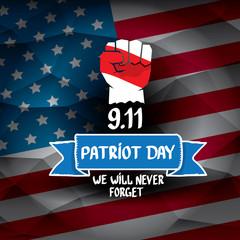Patriot Day USA background