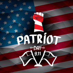 Patriot Day USA background
