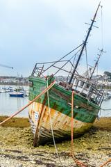 Ship graveyard, Camaret-sur-Mer, Finist?re, Brittany