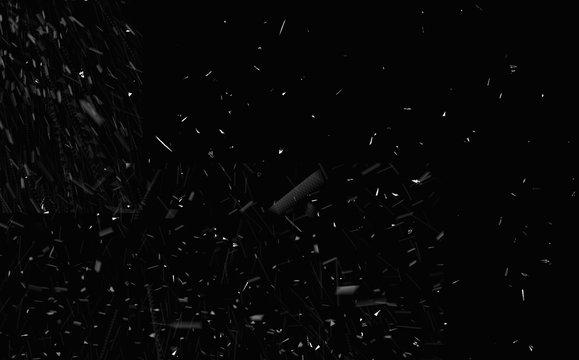 Snowfall - winter background