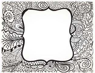 Abstract Painting - Line art drawning