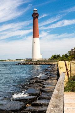 Barnegat Lighthouse, Long Beach Island, NJ, USA