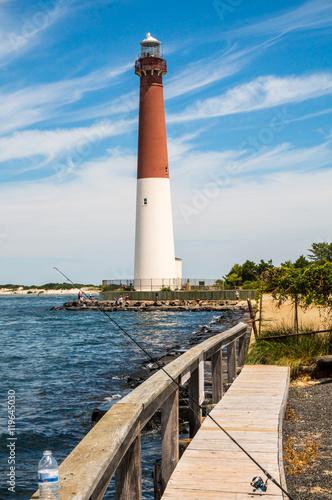 Lighthouse In Long Beach Island Nj Usa