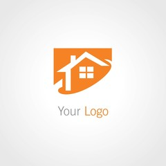 square home vector logo