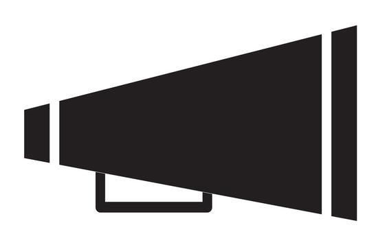 Cheer megaphone icon.