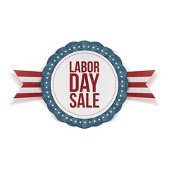 Labor Day Sale Banner Template