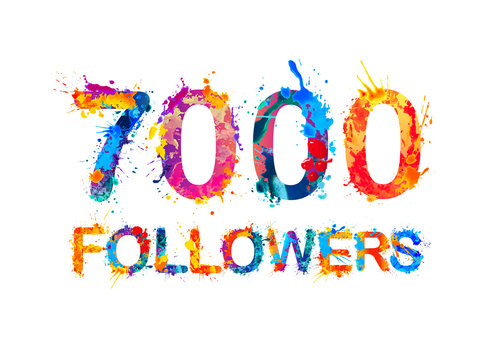 seven thousand (7000) followers
