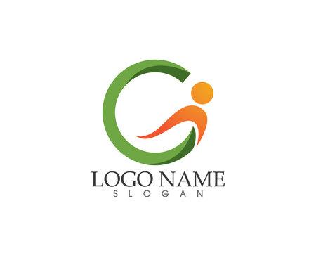 G health letter logo