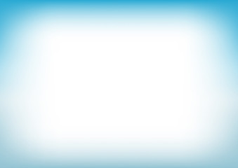 Blue Water Copyspace Background Vector Illustration