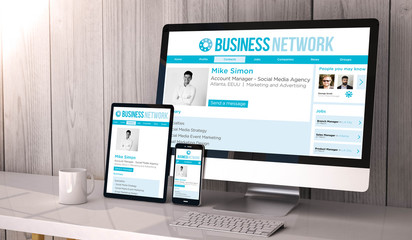 devices responsive on workspace Business Network