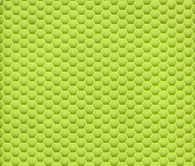 Green Silicon Material Close Up