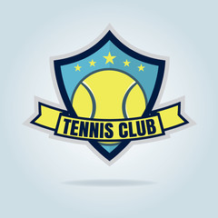 tennis logo,championship,tournament,decal,vector illustration