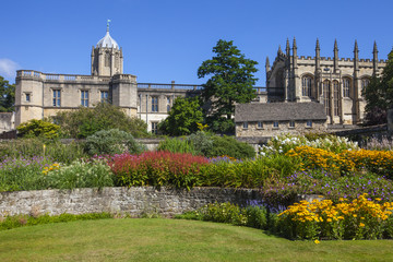 Christ Church Memorial Garden in Oxford