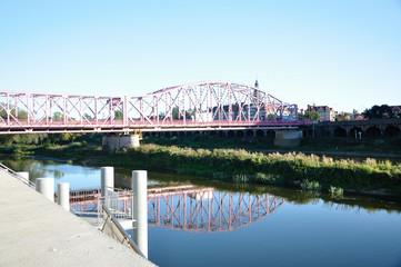 Most Tolerancji – most na Odrze w Głogowie w województwie dolnośląskim