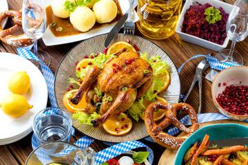 Oktoberfest Tisch