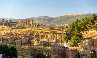 The Roman city of Gerasa - Jordan