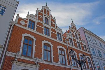 Wismar Altstadt Fassaden