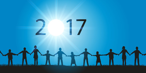 2017 - Solidarité - Ronde des Mains