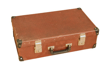 travel suitcase old
