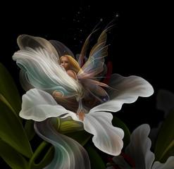 фея и цветок