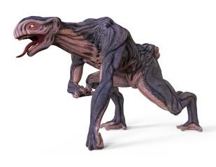 3D Illustration Monster