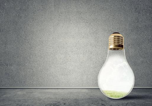 Light bulb in room