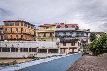Old buildings in Casco Viejo - Panama City, Panama