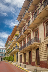 Old buildings in Casco Viejo - Panama City, Panama