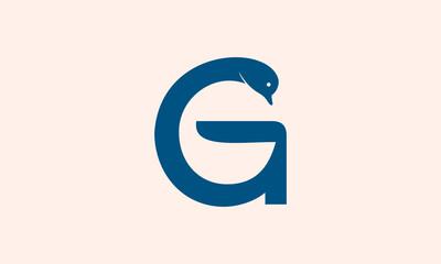 G Letter swan logo